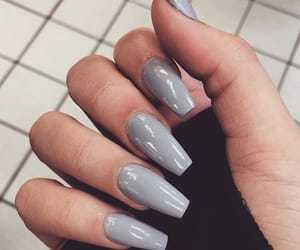 gel, grey, and nails image
