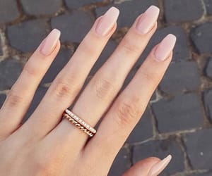 nails, beautiful, and jewelry image