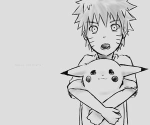 naruto, pikachu, and anime image