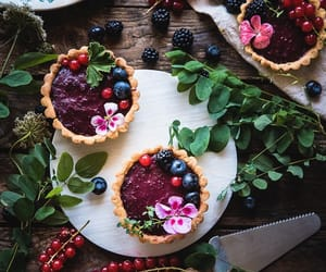 food, berries, and sweet image