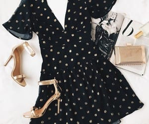 black, fancy, and heels image