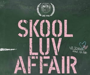 album, skool luv affair, and cover image