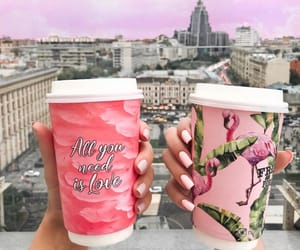 aesthetic, coffee, and nails image