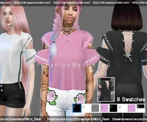 fashion and sims image