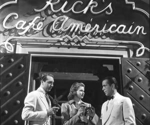 Casablanca, vintage, and classic movies image
