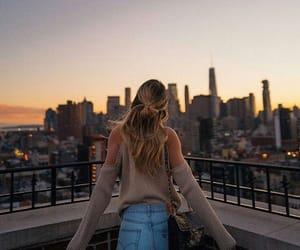 building, new york, and usa image