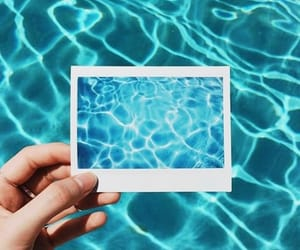 water, blue, and summer image