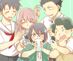 koe no katachi, anime, and friends image
