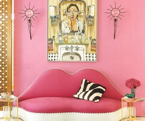 home decor and pink image