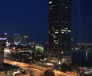 baltimore, city, and lights image