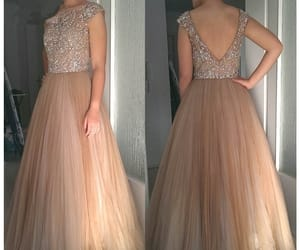 Prom, prom dress, and prom gown image