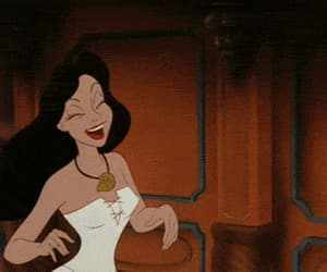 disney, gif, and the little mermaid image