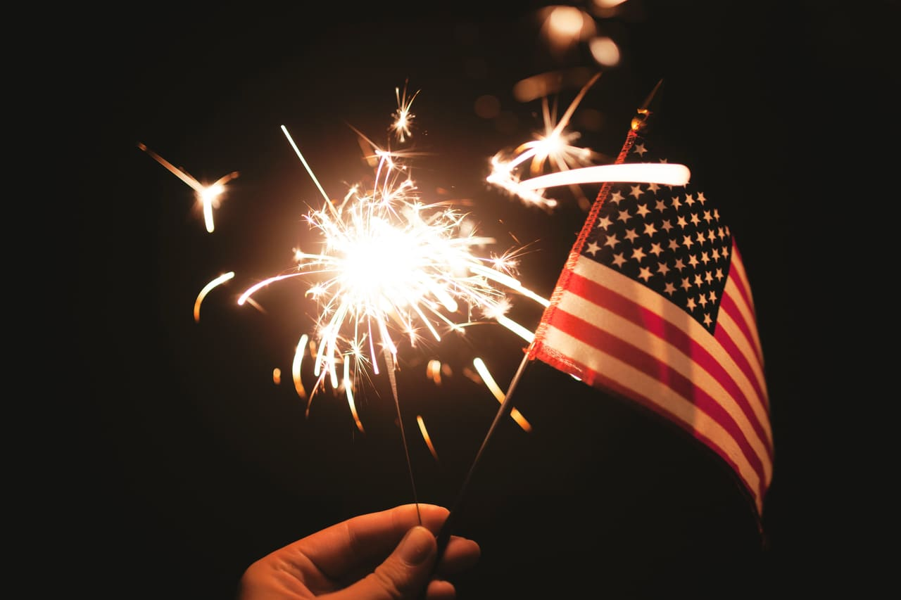 article, fireworks, and holiday image