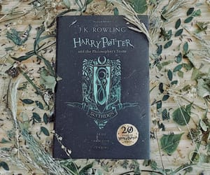 book, hp, and green image