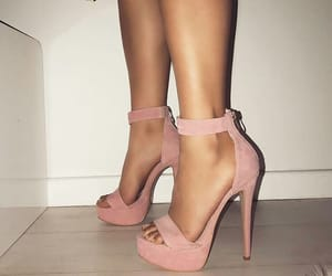 girly, shoes, and high heels image