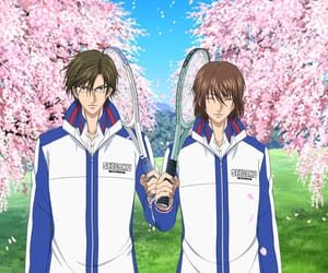 prince of tennis, perfect pair, and tenipuri image