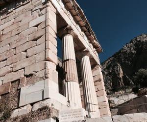 ancient greece, apollo, and delphi image