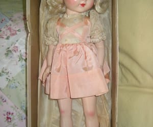 delicate, doll, and old image