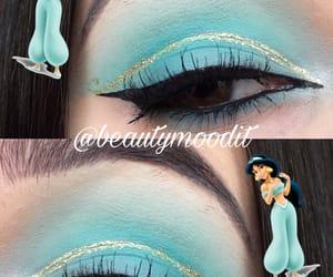 aladdin, makeup, and disney image
