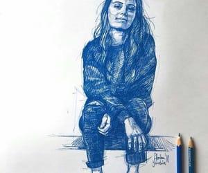 arte, persona, and azul image