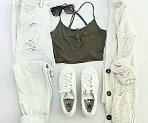 addidas, dress, and mode image
