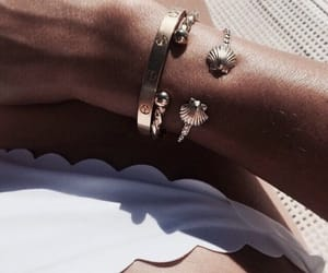 bracelet, summer, and accessories image
