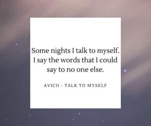 aesthetic, alone, and Lyrics image