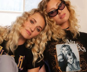 fashion, aly and aj, and glasses image
