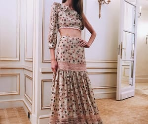cropped and long skirt image