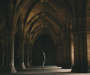 harry potter, hogwarts, and architecture image