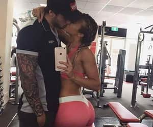 amor, tattoo boy, and couples goals image