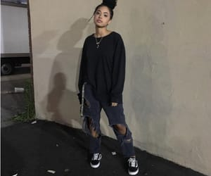 outfit, vans, and grunge image