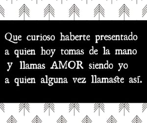 amor, frases, and mentira image