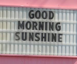 sunshine, pink, and morning image