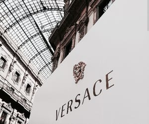 Versace, building, and classy image