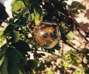 green, tumblr, and tree pendant image