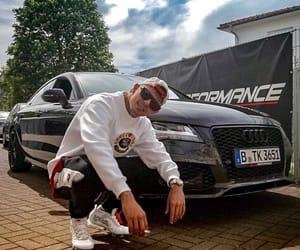 german rap, capital bra, and audi a7 image