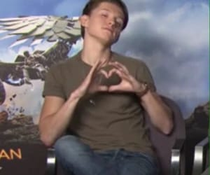 meme, reaction, and tom holland image