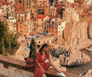 beautiful, travel, and girl image