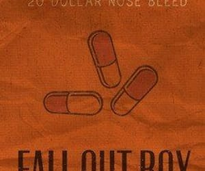 fall out boy and 20 dollar nose bleed image