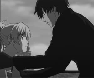 anime, gif, and darker than black image