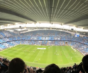 arena, field, and manchester city image