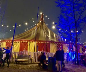 circus, crowd, and festival image