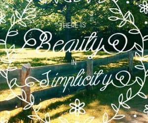 beauty, countryside, and simplicity image