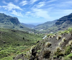 blue, green, and gran canaria image