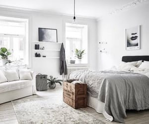 bedroom, withe, and fashion image