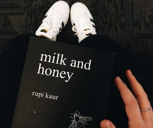 book and milk and honey image