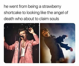 pink and Harry Styles image