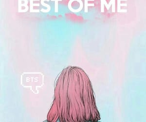 bts, best of me, and army image