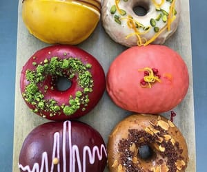 delicious, doughnut, and food image